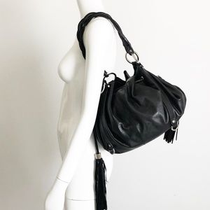 Givenchy Bags - Givenchy Pumpkin Bag Hobo Tote Black Leather